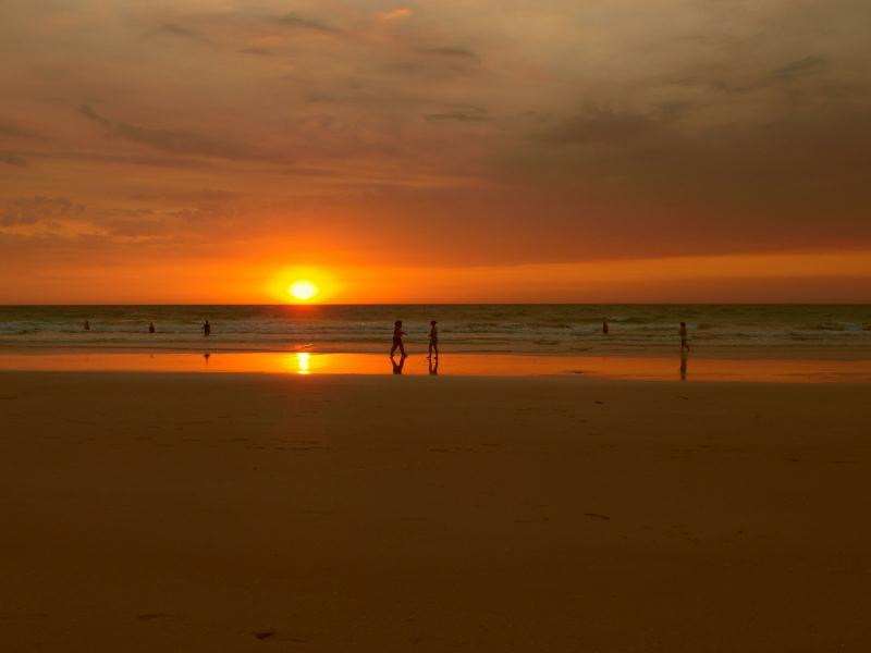 Broome Australien Cable Beach Sonnenuntergang 1162