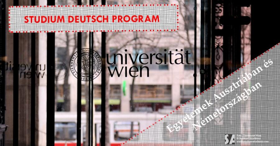 Studium Deutsch program