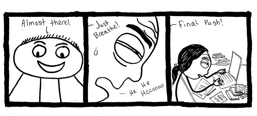 Editorial Cartoon  December 3 2010  Student Life