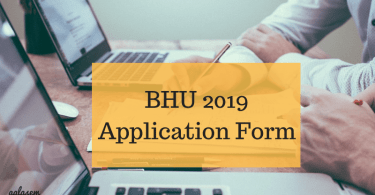 BHU Application Form