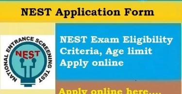 NEST Application Online