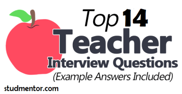 Teacher Interview questions on Stud mentor
