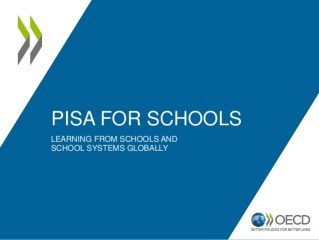 PISA for School