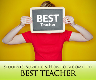 Best Teacher - From Students advise