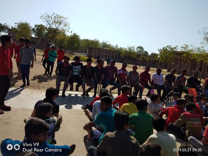 Holi Celebration in Navodaya vidyalaya