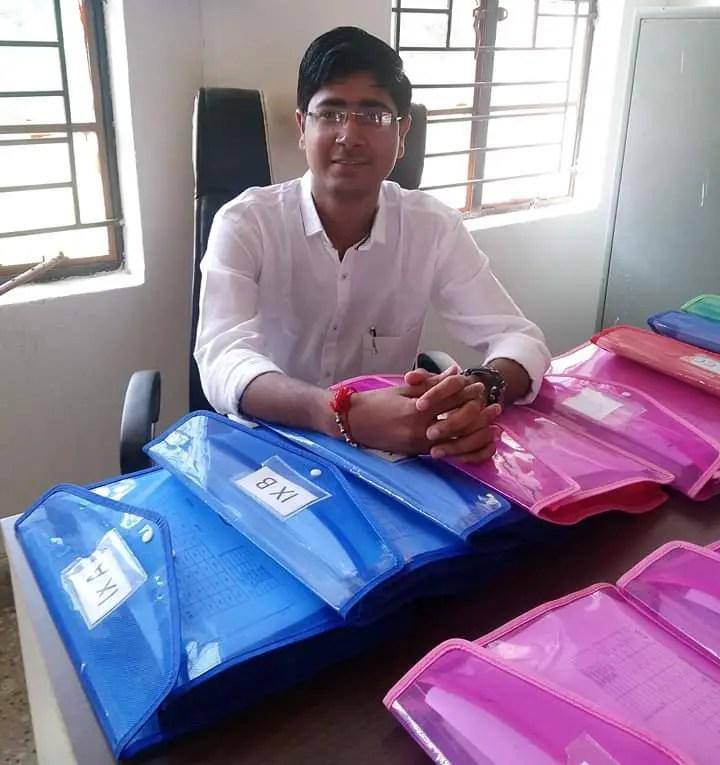 Navodaya computer teacher Sh. Chetan Darji