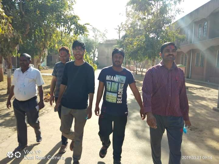 Navodaya teacher Teacher Walk