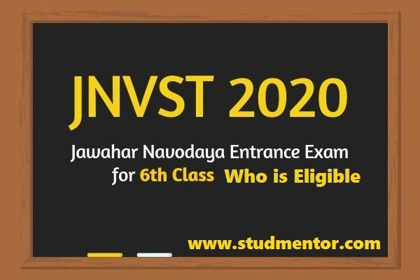 Who is Eligible in Navodaya class VI admission online