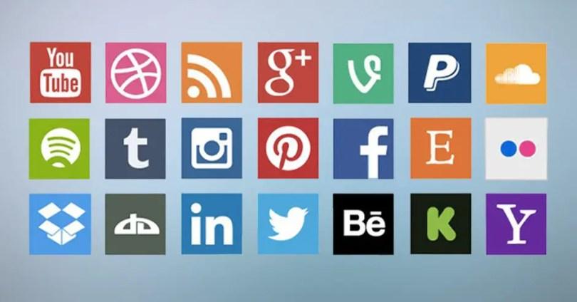 Put social sharing buttons