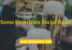 What are some unwritten social rules everyone should know