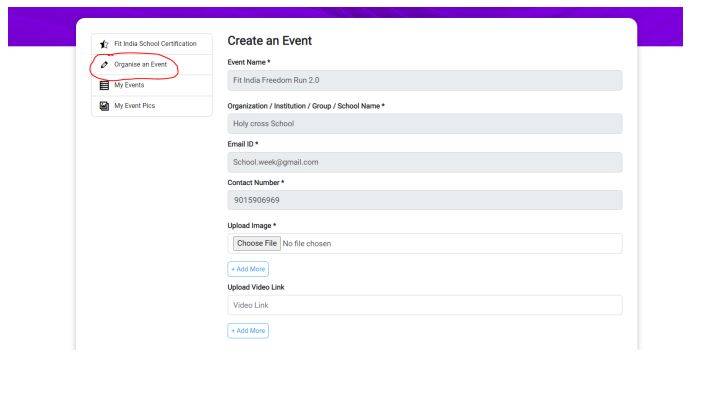 Organize an Event