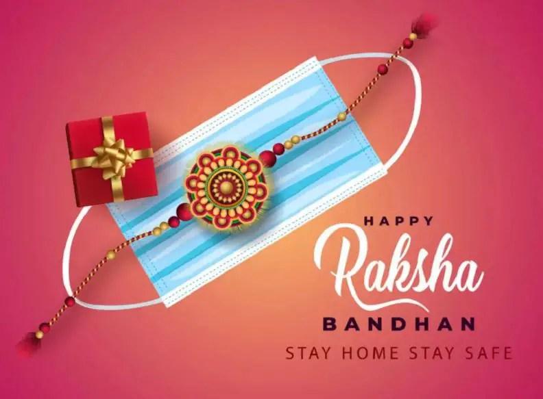 Wish Happy Rakhi Rakshabandhan 2021