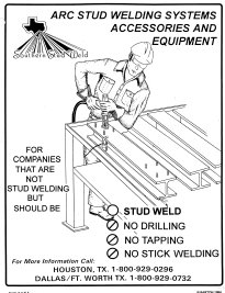 Drawn Arc Stud Welding