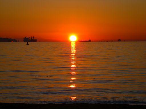 バンクーバーダウンタウン フォトジェニックスポット English Bay