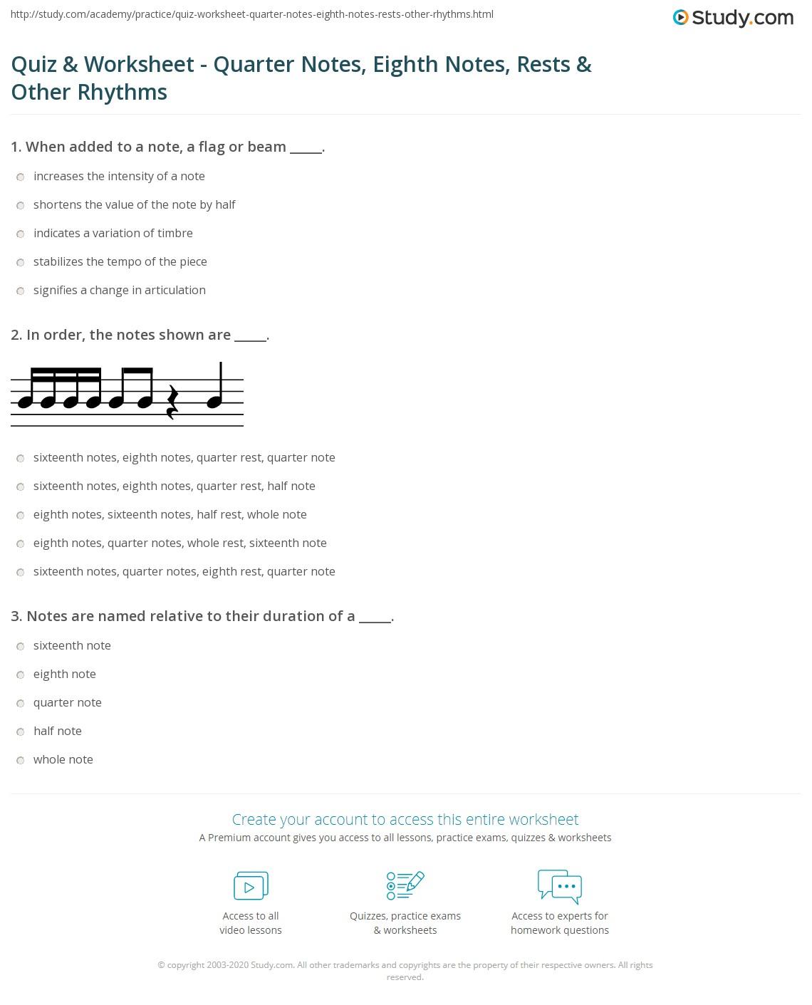 Worksheet 3 2 1