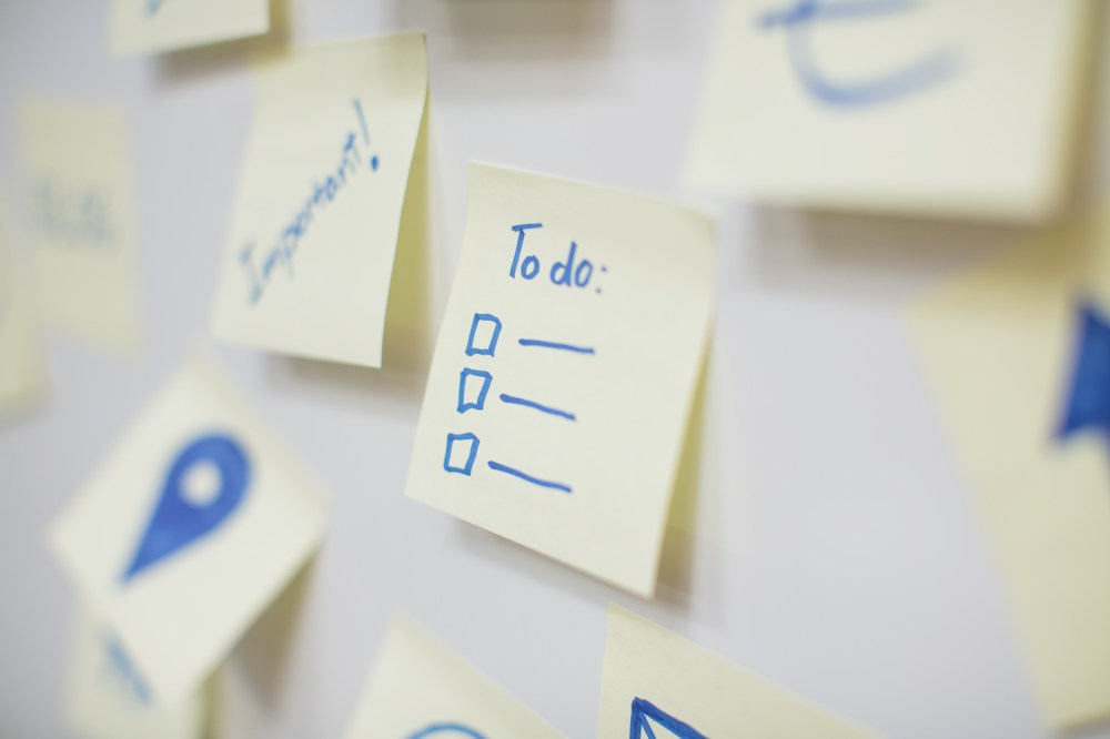 medium resolution of a list of to do s to help you plan ahead