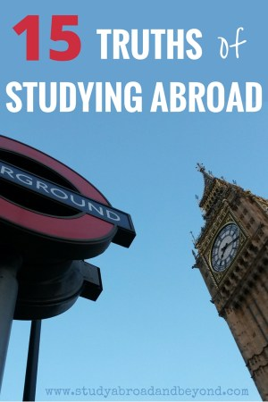 Study Abroad Programs Experiences For A Resume