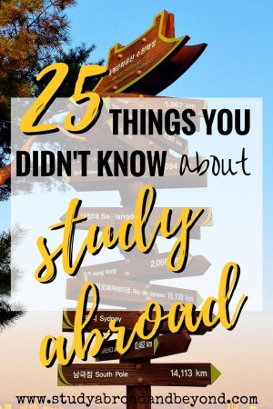 How much do you really know about study abroad? Read on to see how many of these you already knew! | Study Abroad and Beyond