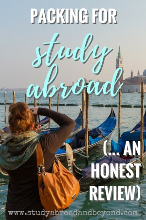 With so many articles about study abroad packing, many avoid talking about packing successes and failures. Here is a review of how I could have done better. | Study Abroad and Beyond