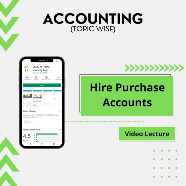Hire Purchase Accounts