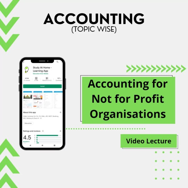 Accounting for Not for Profit Organisations
