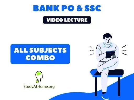 All Subjects Combo (English + Reasoning + QA + GK & Current Affairs) for Banking - IBPS & RRB (Clerk & PO)