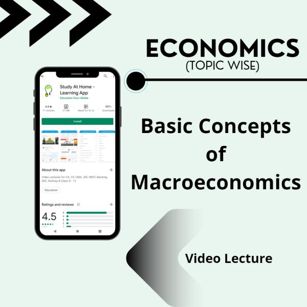 Basic Concepts of Macroeconomics
