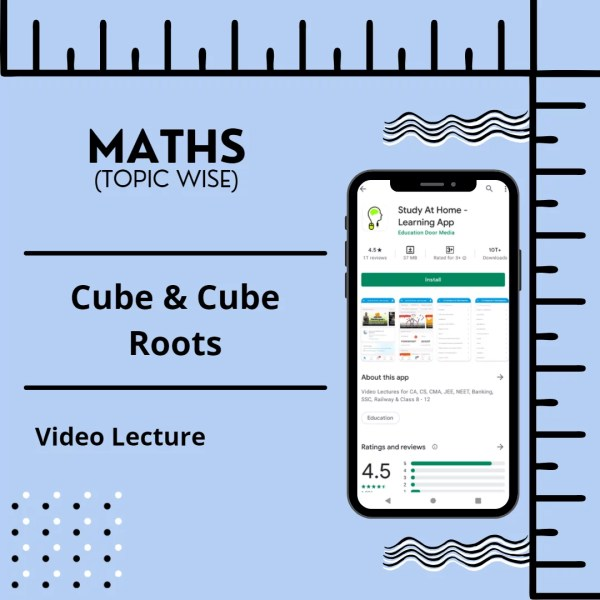 Cube & Cube Roots