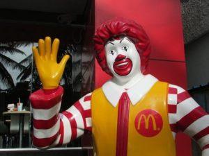 McDonald's Ronald McDonald