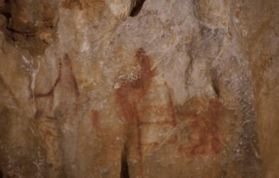 Neanderthal cave art