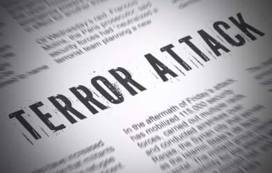 Terror Attack newspaper