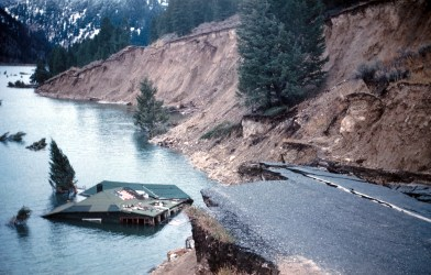 Yellowstone National Park 1959 Earthquake