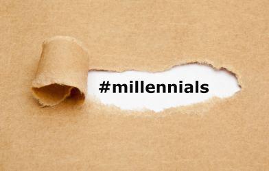 Millennials hash tag