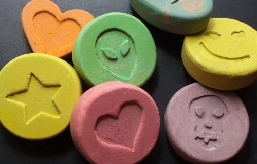 Ecstasy, MDMA, Molly pills