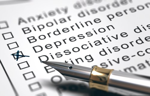 Mental Health Disorder List, Depression Diagnosis