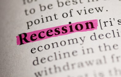 Recession highlighted in dictionary