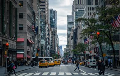 New York City street - Manhattan