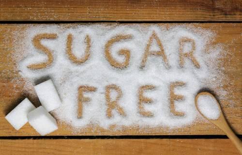 Sugar free, artificial sweetener