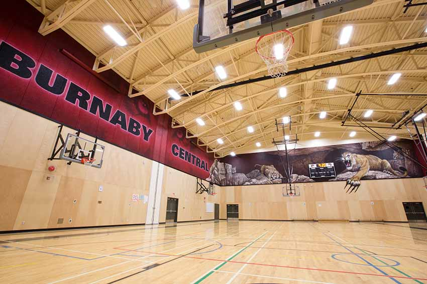 Burnaby Central Secondary  Burnaby School District BC Canada