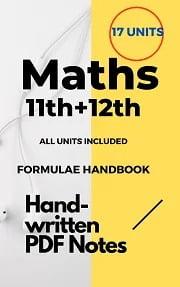 Download Best Maths Handwritten Notes for JEE/NEET 2021-22