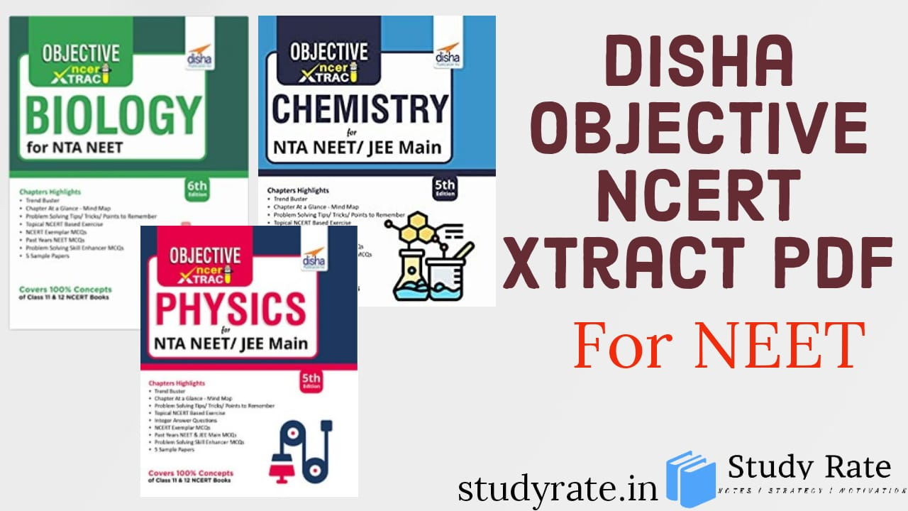 You are currently viewing Download Disha NCERT Xtract of PCB for NEET: Latest Editions