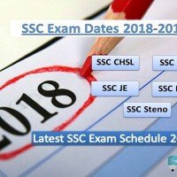SSC Exam 2018 Dates Latest Time Table (CHSL, JE, CGL, MTS Exam)