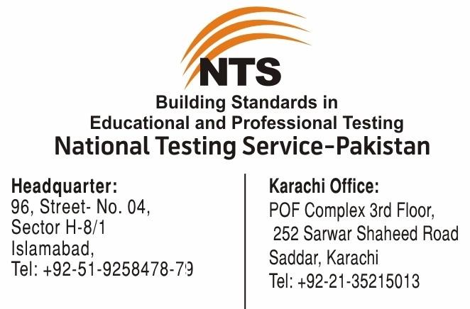 FJMC Lahore Admission NTS Test 2016, Form, Test Result