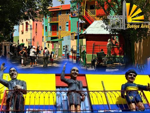 Die einzelnen interessanten Stadtteile von Buenos Aires