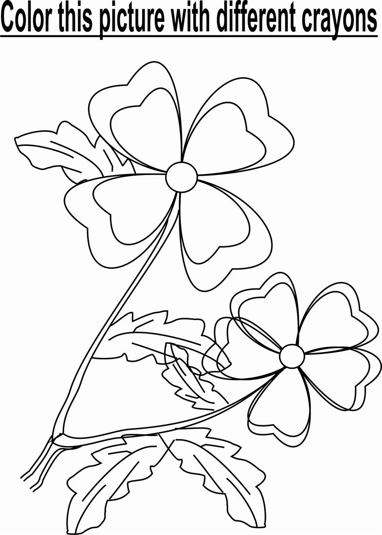 flower gardens Colouring Pages (page 3)