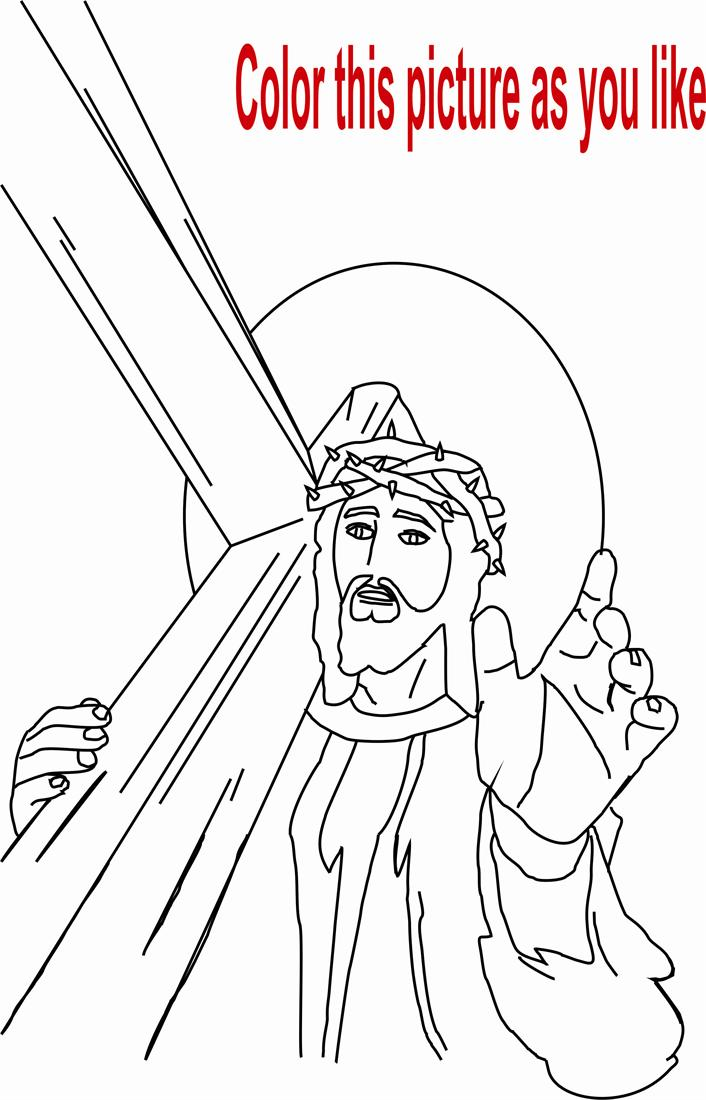 Free jesus last supper coloring pages