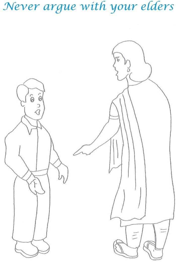 Printable Worksheets » Etiquette For Kids Worksheets