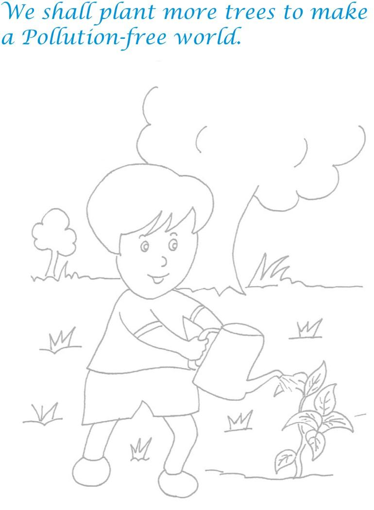 Children's day printable coloring page for kids 20