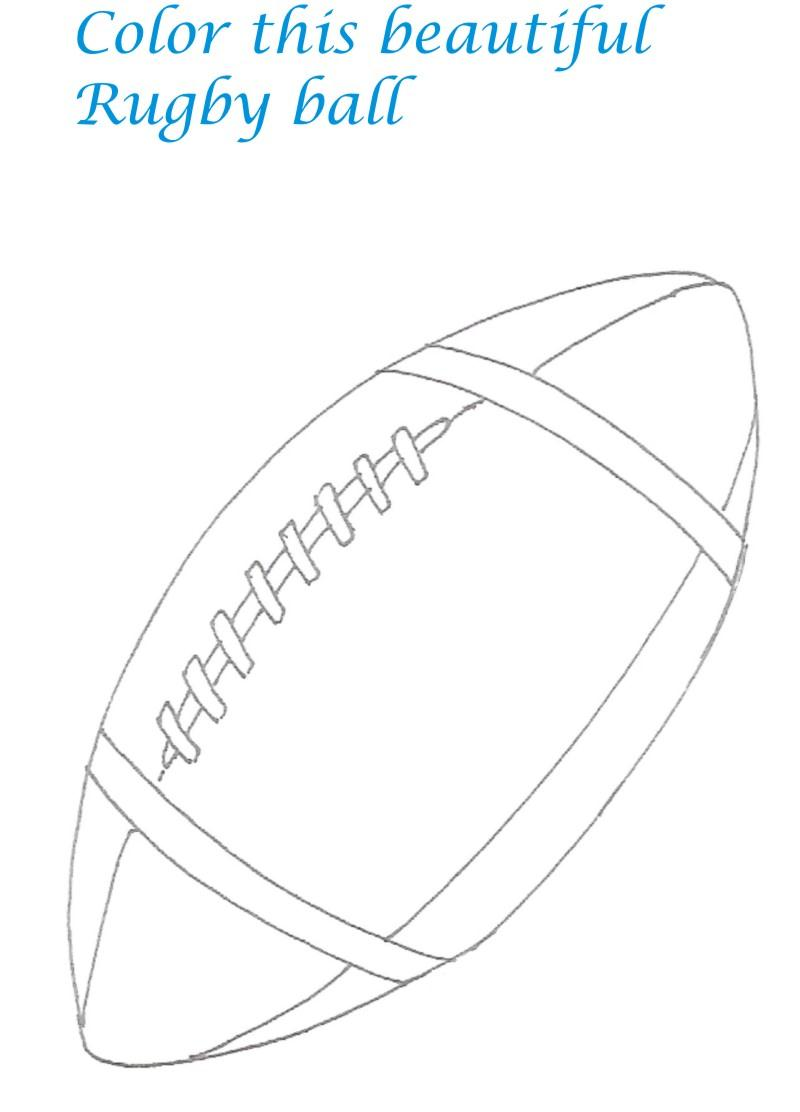Sports Goods Coloring Pages for kids