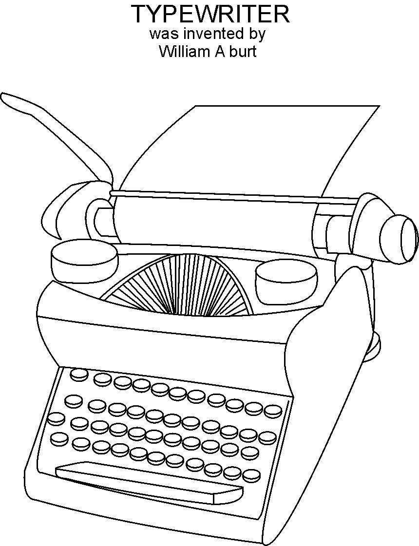 Free coloring pages of black inventors